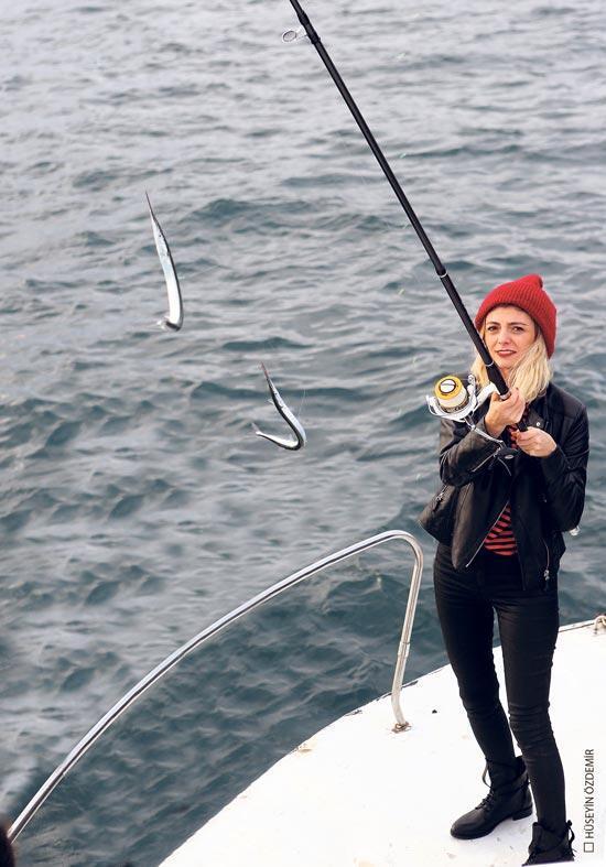 Balığın peşinde bir gün
