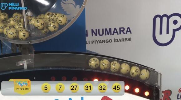 Sayısal Loto sonuçları açıklandı Sayısal Loto 23 Şubat çekilişinde kazanan numaralar...