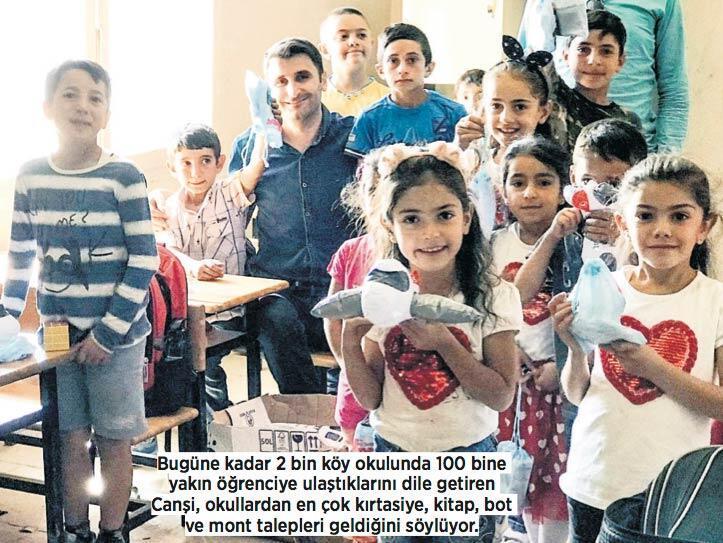 100 bin çocuğun kalbine dokundular