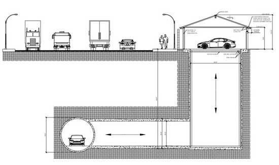 The Boring Company garajları tünele bağlayacak