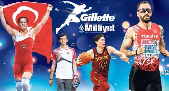 Nefes kesen yarış Gillette Milliyet Yılın Sporcusu Ödülleri 65'inci yılında...
