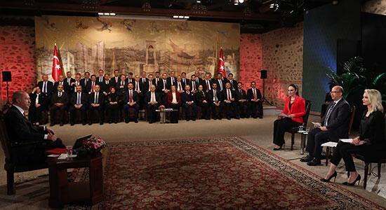 Cumhurbaşkanı Erdoğan: Olumlu gelişmeler şu an başladı