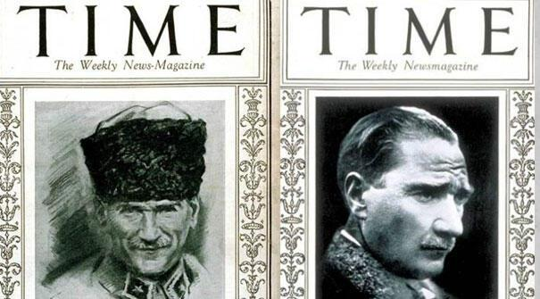 Ulu Önder Atatürk Time dergisine kaç kez kapak oldu? 24 Mart kopya ...