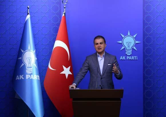 Son dakika   AK Parti Sözcüsü Çelikten CHP açıklaması: Bu kadar rahatsanız bu telaşınız niye