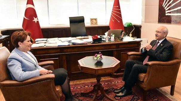 Kılıçdaroğlu-Akşener bir araya geldi