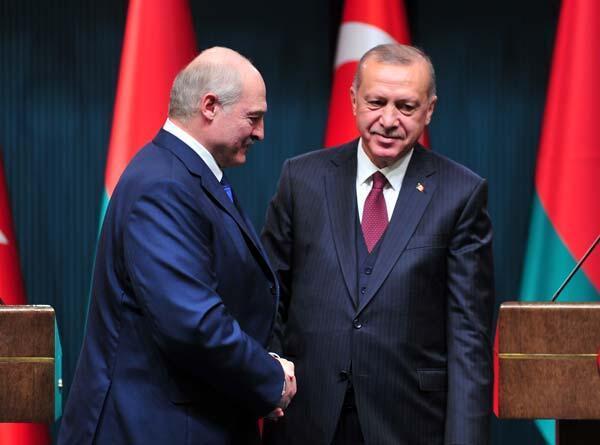 Cumhurbaşkanı Erdoğan ve Belarus Cumhurbaşkanından ortak açıklama