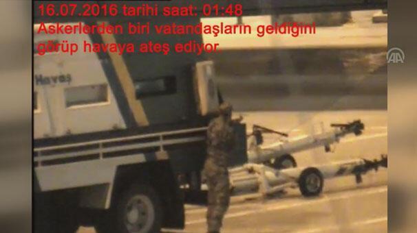 FETÖnün Atatürk Havalimanını işgal girişimi davasında yeni görüntüler
