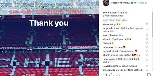Antonio Valencia, Manchester Uniteda veda etti