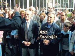 Başkan Aziz Kocaoğlu
