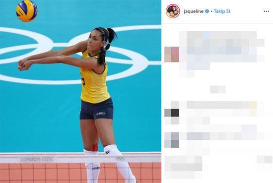 Voleybolcu Jacqueline Carvalho canlı yayında bayıldı