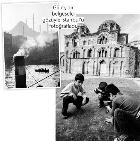 Güler sergisi eski İstanbul'u Londra'ya taşımış