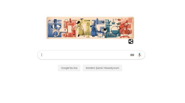 Googledan 1 Mayıs İşçi Bayramı sürprizi 1 Mayıs Doodle oldu