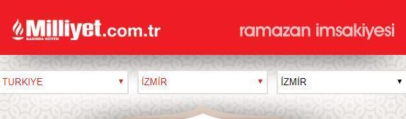 Bugün iftar saat kaçta İzmir iftar saati