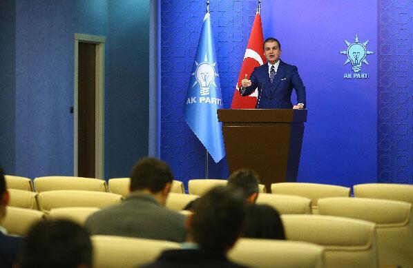 AK Parti Sözcüsü Çelik: YSKnın kararı milli iradenin hakem tayin edilmesidir