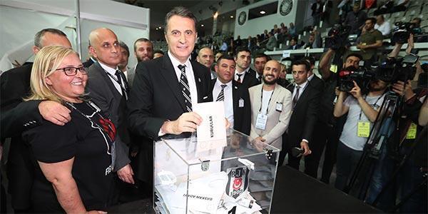 Beşiktaş seçiminde oy verme işlemi sona erdi