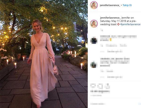 Jennifer Lawrence ile Cooke Maroney nişanlandı