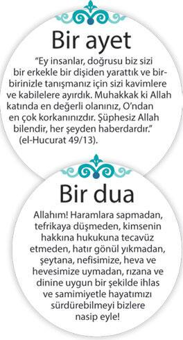 Yüce Allah'ın hoşnutluğu bize en büyük mutluluktur