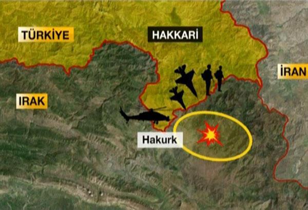 Bakanlık duyurdu Kuzey Iraktaki teröristlere havadan ve karadan harekat