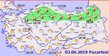 Bayramda hava nasıl olacak Meteoroloji duyurdu