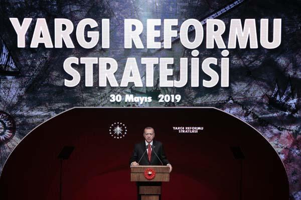 Yargıda yeni dönem... Cumhurbaşkanı Erdoğan tek tek açıkladı