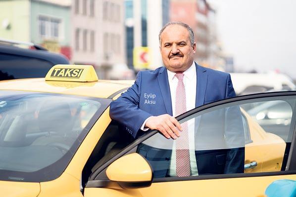 Uber artık sarı taksici