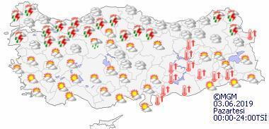 Arefe Günü hava durumu nasıl olacak İl il bölge bölge hava durumu