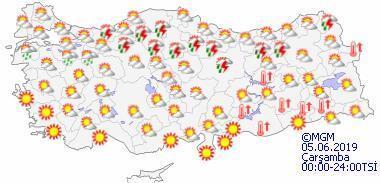 Hava durumu bayramda nasıl olacak Bölge bölge il il hava durumu raporu