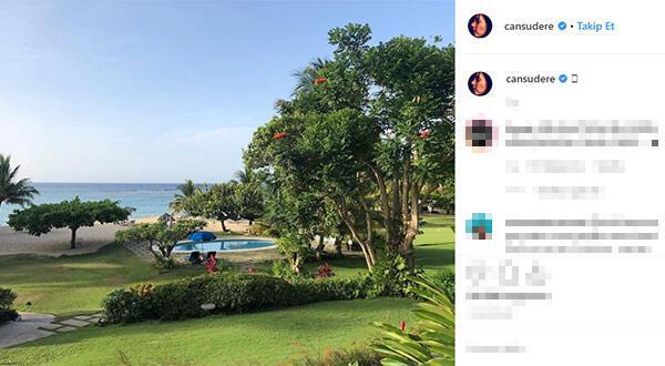 Cansu Dere sosyal medyayı salladı