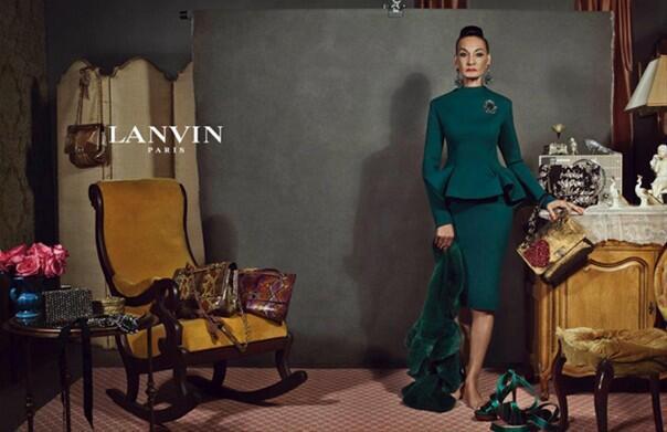 Lanvin 2012 Sonbahar-Kış Reklam Kampanyası