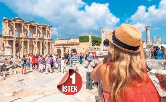 Turizmden en az pay bize düşüyor