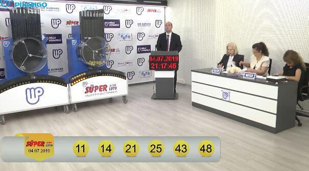 Süper Loto çekiliş sonuçları belli oldu (4 Temmuz MPİ Süper Loto sonuç sorgulama ekranı)