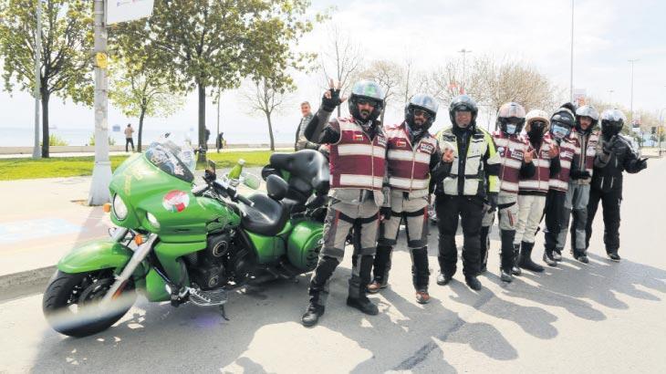 Motorları sür İstanbul'a