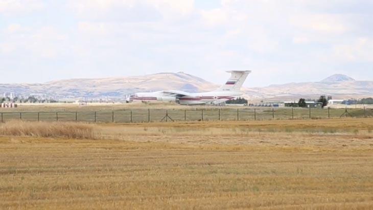 S-400ler Türkiyede İlk parçalar Ankaraya indi