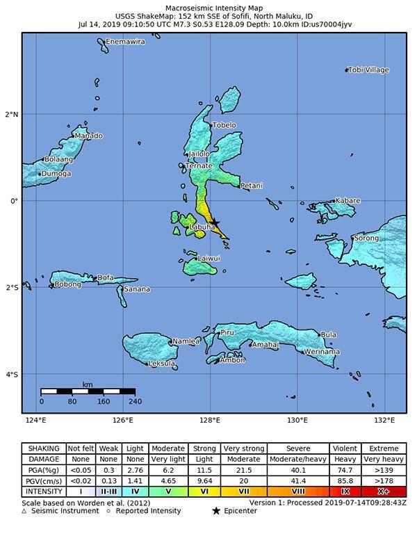 SON DAKİKA...Ülke şokta 7.3 büyüklüğünde deprem