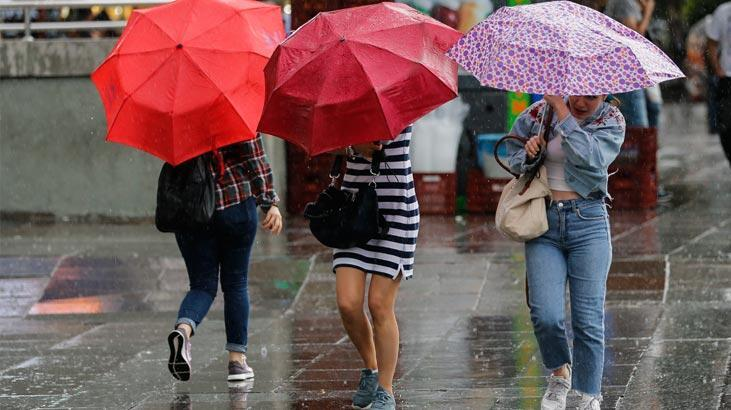 Meteoroloji'den sağanak yağış uyarısı! - Son Dakika Milliyet