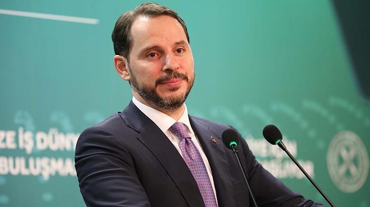 Bakan Berat Albayrak: Çok güçlü bir 2020 yılını hep birlikte ...