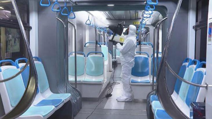İzmir'de toplu taşıma araçlarına corona virüsü önlemi - Son Dakika Haberleri Milliyet