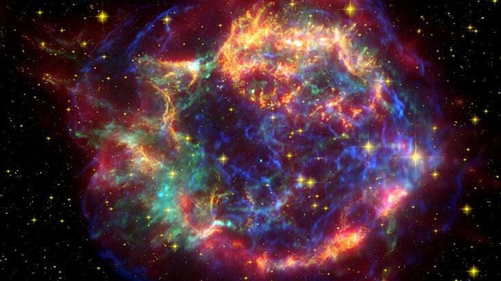 NASA Hubble Uzay Teleskobu ile doğum günü gökyüzü görüntüleme ...