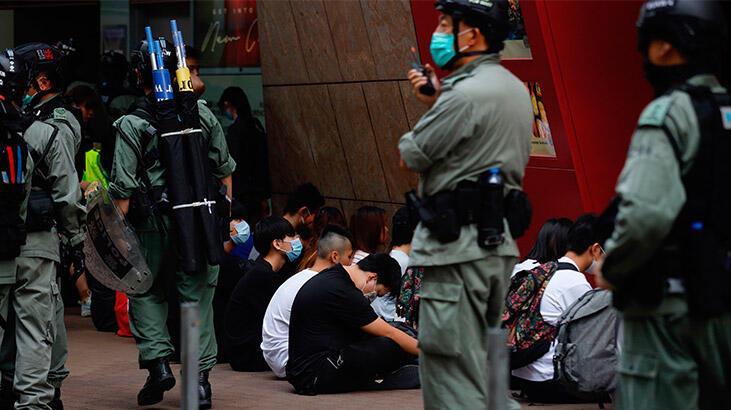 Çin'in ulusal güvenlik yasa teklifi Hong Kong'u karıştırdı!