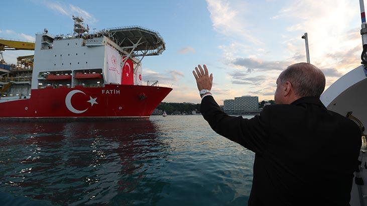 Cumhurbaşkanı Erdoğan, Fatih sondaj gemisini uğurladı - Haberler