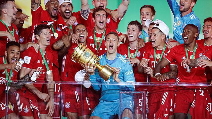 Almanya Kupası finalinde Bayern Münih, Bayer Leverkusen'i yıktı!