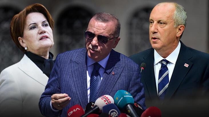 Son dakika: Cumhurbaşkanı Erdoğan'dan Meral Akşener ve Muharrem ...