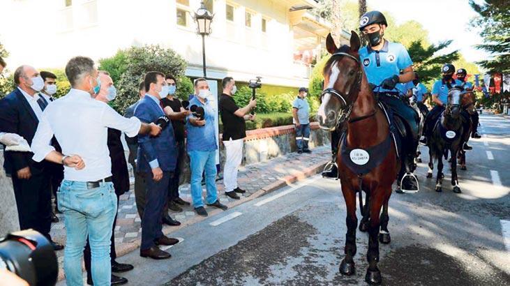İstanbul'un atlı zabıtaları - Son Dakika Haberler Milliyet