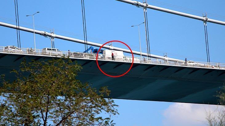 Son dakika... İstanbul Fatih Sultan Mehmet Köprüsü'nde intihar girişimi! - Son  Dakika Milliyet