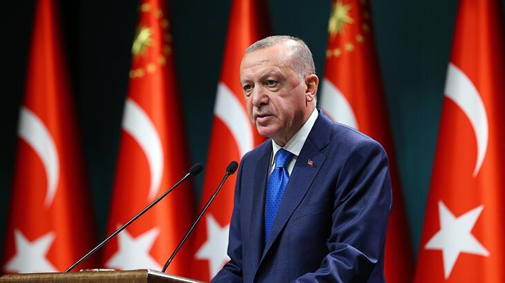 Son dakika... Kabine Toplantısı sonrası Cumhurbaşkanı Erdoğan'dan önemli  açıklamalar - Son Dakika Haberleri