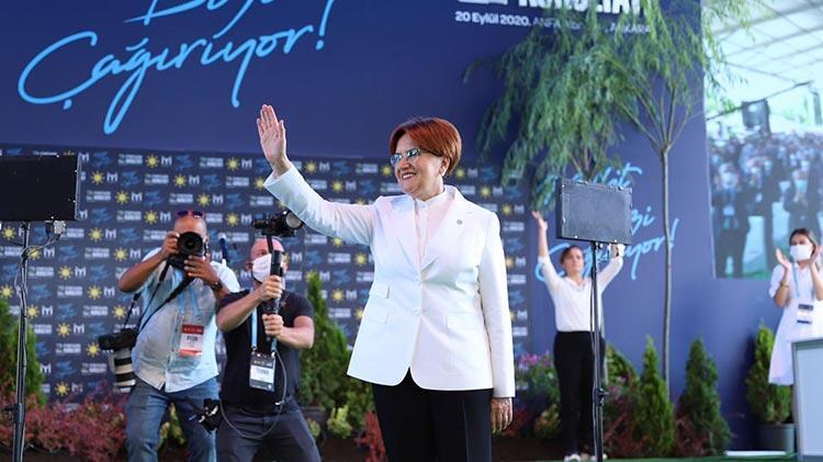 Son dakika...  Meral Akşener bin 289 oyla yeniden İYİ Parti Genel Başkanı seçildi