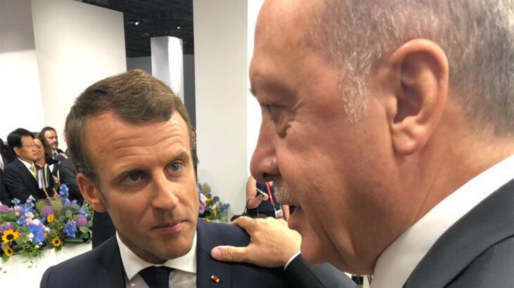 Son dakika haberler...Cumhurbaşkanı Erdoğan, Macron ile görüştü! - Son Dakika