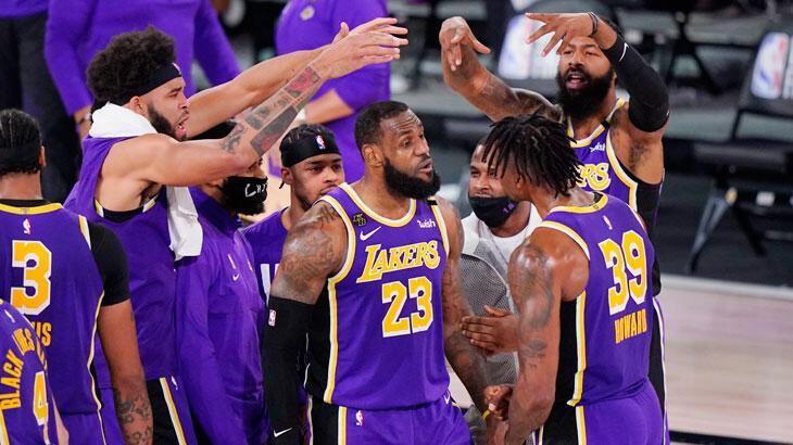 Los Angeles Lakers NBA finaline yükseldi - Basketbol Spor Haberleri