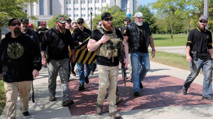 Proud Boys: Trump'ın kınamadığı aşırı sağcı grup - Haberler Milliyet