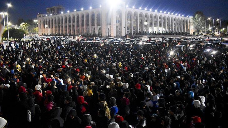 Kırgızistan'da ortalık yanıyor! Neler yaşandı? - Son Dakika Haberleri  Milliyet